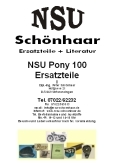 Download Katalog NSU Pony 100